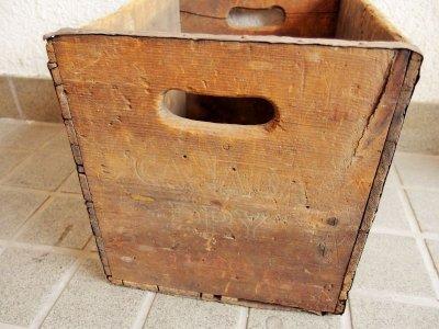 画像1: ビンテージ CANADA DRY木箱