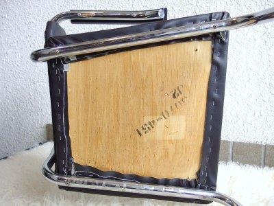 画像2:  ビンテージ 70's クロームチェア