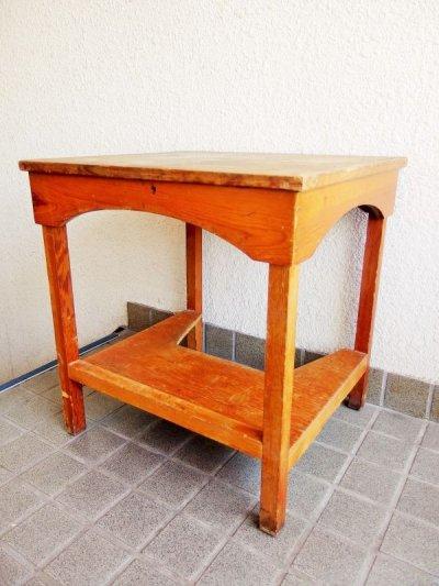 画像2: ビンテージ ウッドテーブル