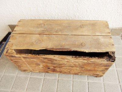 画像1: ビンテージ ROYAL 木箱