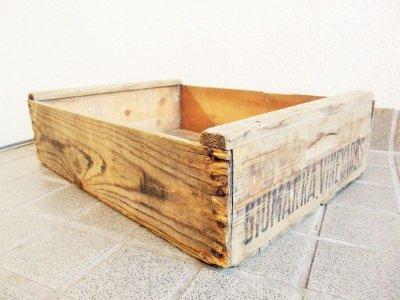 画像1: ビンテージ 木箱(118)