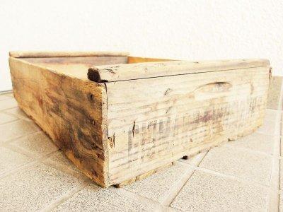 画像1: ビンテージ 木箱(117)