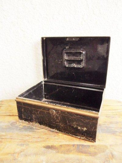 画像1:  ビンテージ キャッシュボックス