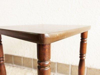 画像2:  ビンテージ 60's-70's ウッドサイドテーブル