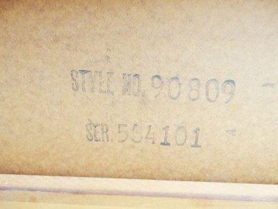 画像3:  ビンテージ 60's LANE社製 トライアングルレッグ コーヒーテーブル