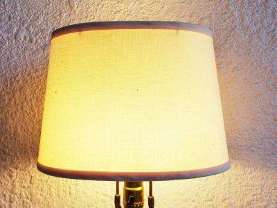 画像3: ビンテージ レッドガラステーブルランプ