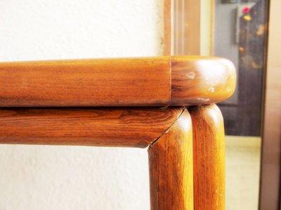 画像1: ビンテージ 80's タイルトップ ソファテーブル