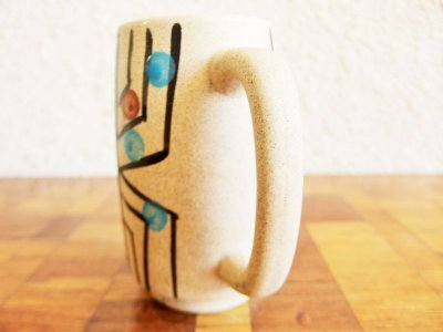 画像2: ビンテージ 陶器マグ