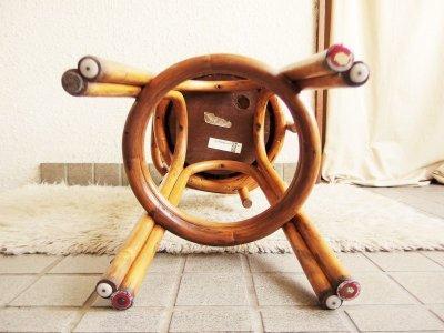 画像2:  ビンテージ 60's KALP-SON RATTAN社製 ラタンバーチェア