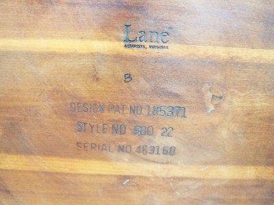 画像2:  ビンテージ 60's LANE社製 ACCLAIMシリーズ サイドテーブル