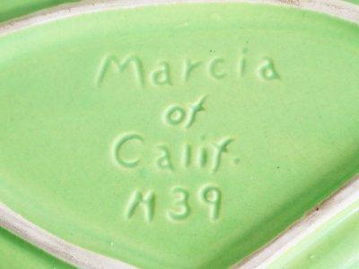 画像1:  ビンテージ  50's ツーフェイス陶器キャンディボックス