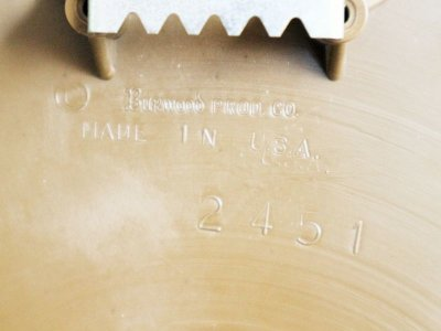 画像3:  ビンテージ 70's BURWOOD社製 ウォールクロック