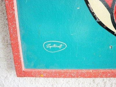 画像1:  ビンテージ Sportcraft社製 ピエロゲームボード