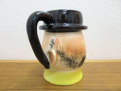 画像1: ビンテージ 陶器マグ