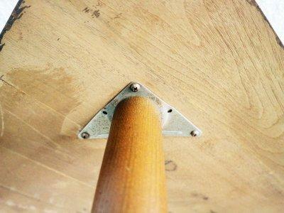 画像3: ビンテージ 60's ウッドコーナーテーブル
