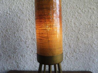画像3:  ビンテージ 60's ファイバーテーブルランプ