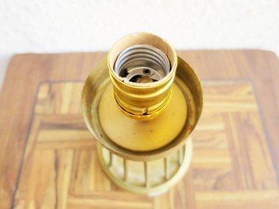 画像1:  ビンテージ 60's ファイバーテーブルランプ