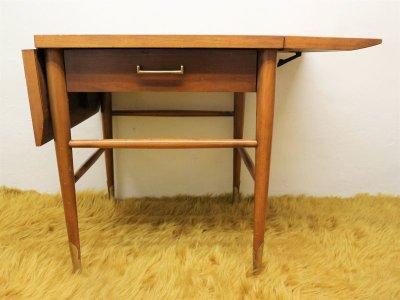 画像3: ビンテージ 50's LANE社製 ウッドバタフライテーブル