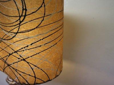 画像3: ビンテージ 50's 陶器 テーブルランプ