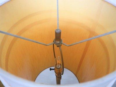 画像1: ビンテージ 60's コルクフロアランプ