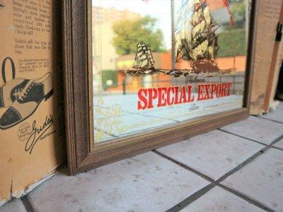 画像2: ビンテージ SPECIAL EXPORT パブミラー