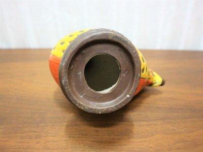 画像3:  ビンテージ 陶器ニワトリモチーフオブジェ