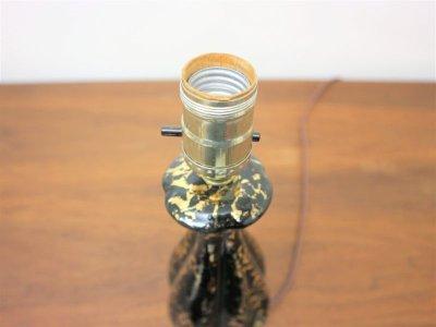 画像2:  ビンテージ 50's 陶器テーブルランプ