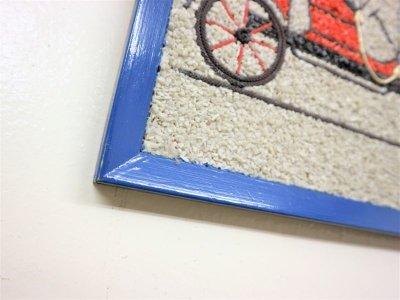 画像1:  ビンテージ  50-60's カラーロックウォールデコ