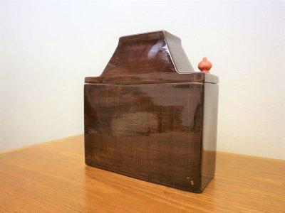 画像1:  ビンテージ Mancioli Italy社製 陶器キャニスター