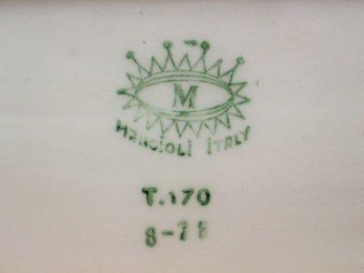画像3:  ビンテージ Mancioli Italy社製 陶器キャニスター