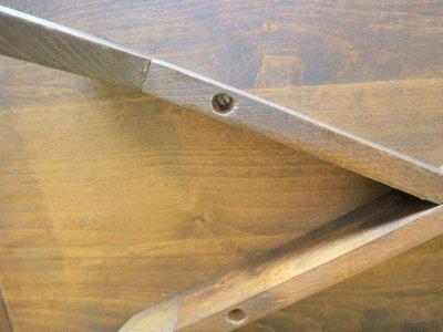 画像3: ビンテージ 50-60's ガラストップテーブル