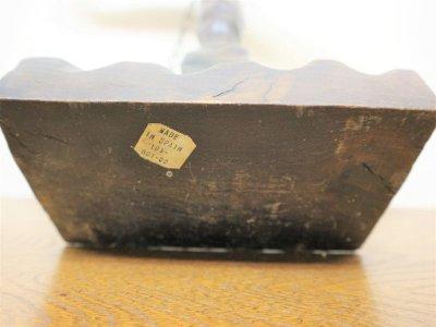 画像3:  ビンテージ SPAIN製 ウッドスケールオブジェ