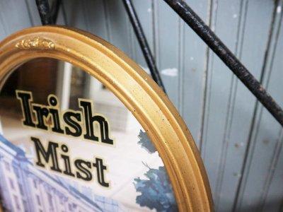 画像1:  ビンテージ Irish Mist パブミラー