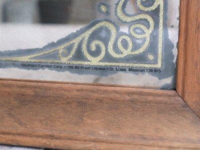 画像2:  ビンテージ SOUTHERN COMFORT パブミラー