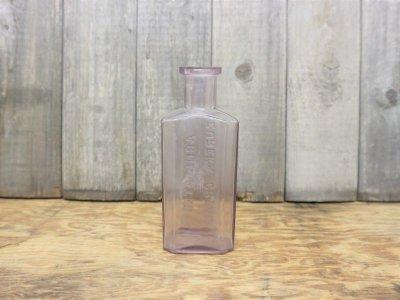 画像2:  ビンテージ ARNICATED EUREKA CREAM ガラスボトル