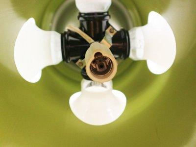 画像3:  ビンテージ 70's 5灯スペイシーペンダントランプ