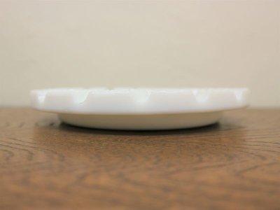 画像2:  ビンテージ ミルクガラスアシュトレイ
