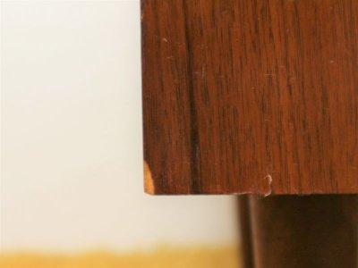 画像1: ビンテージ タイルトップナイトテーブル