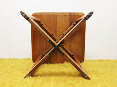 画像3: ビンテージ 60's Brown Saltman サイドテーブル
