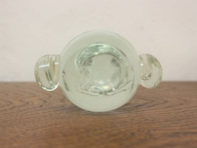 画像3: ビンテージ ガラスフクロウモチーフオブジェ