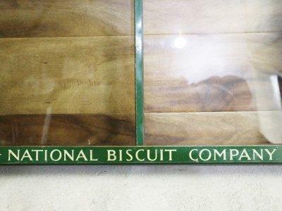 画像1:  ビンテージ 50's NATIONAL BISCUIT ショーケース