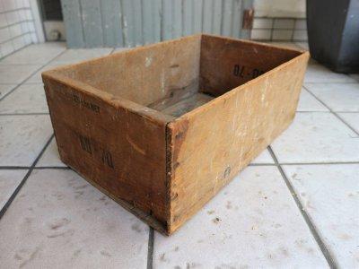 画像1: ビンテージ TORN & GLASSER社製 木箱