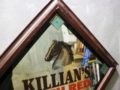 画像1: ビンテージ KILLIAN'S RED パブミラー