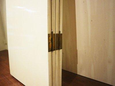 画像3:  ビンテージ 特大アートパーテーション