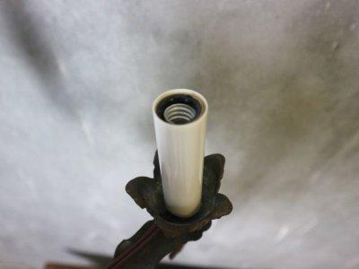 画像3: アンティーク アイアン5灯シャンデリア