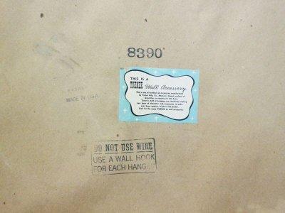 画像3: ビンテージ 60's TURNER社製 ウッドシャドーボックス