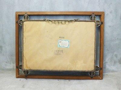 画像1: ビンテージ 60's TURNER社製 ウッドシャドーボックス