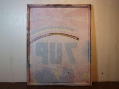 画像1:  ビンテージ peter max 7UP サイン