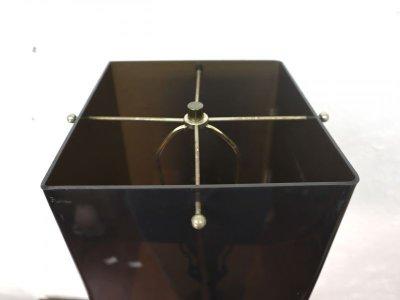 画像1:  ビンテージ 60-70's 2灯アクリルテーブルランプ