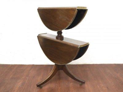 画像1:  ビンテージ バタフライワインテーブル